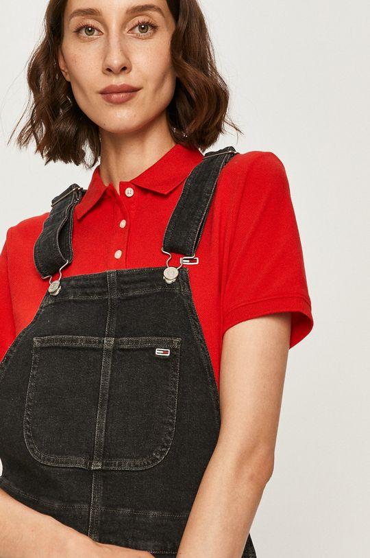 sivá Tommy Jeans - Rifľové šaty