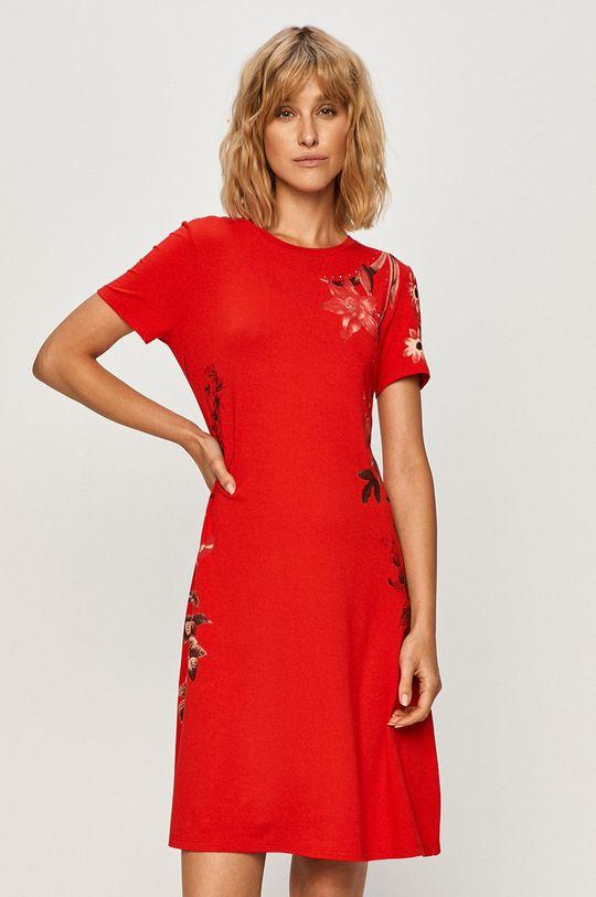 červená Desigual - Šaty Dámský