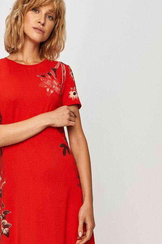 červená Desigual - Šaty