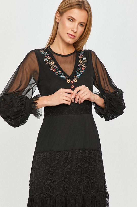 černá Desigual - Šaty