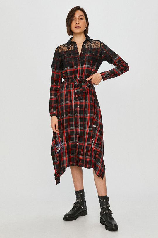 Desigual - Šaty vícebarevná