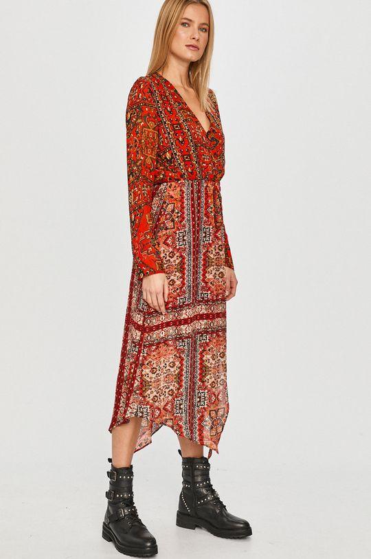 czerwony Desigual - Sukienka