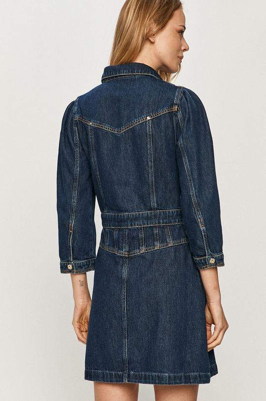 Guess Jeans - Rifľové šaty  100% Bavlna