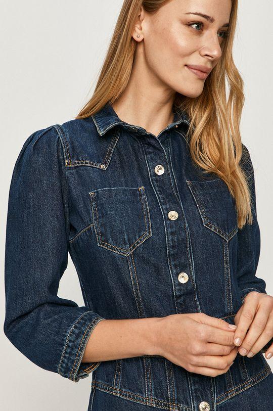 tmavomodrá Guess Jeans - Rifľové šaty