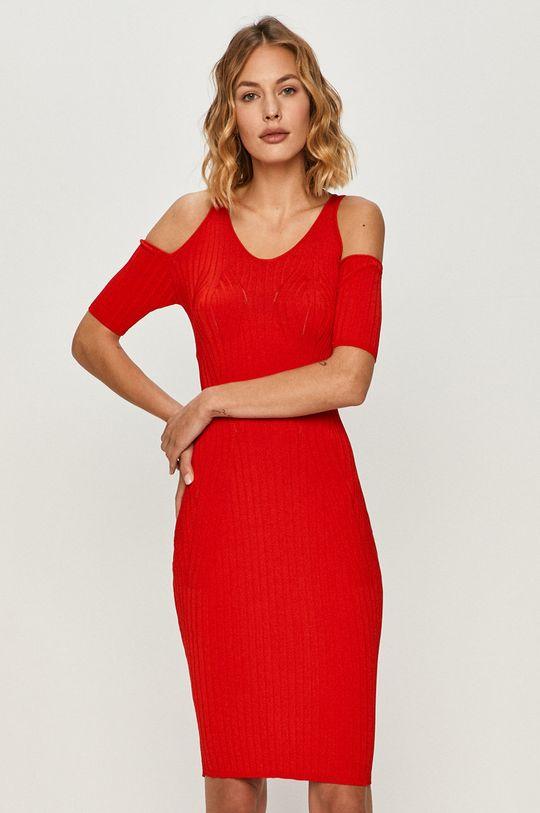 czerwony Guess Jeans - Sukienka Damski