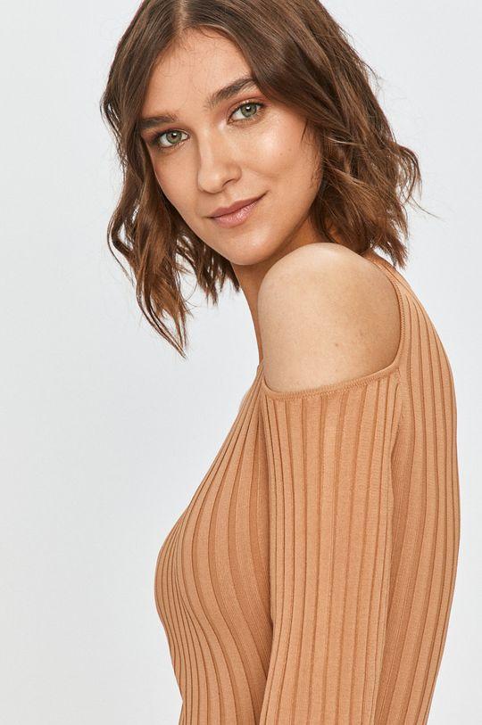 złoty brąz Guess Jeans - Sukienka