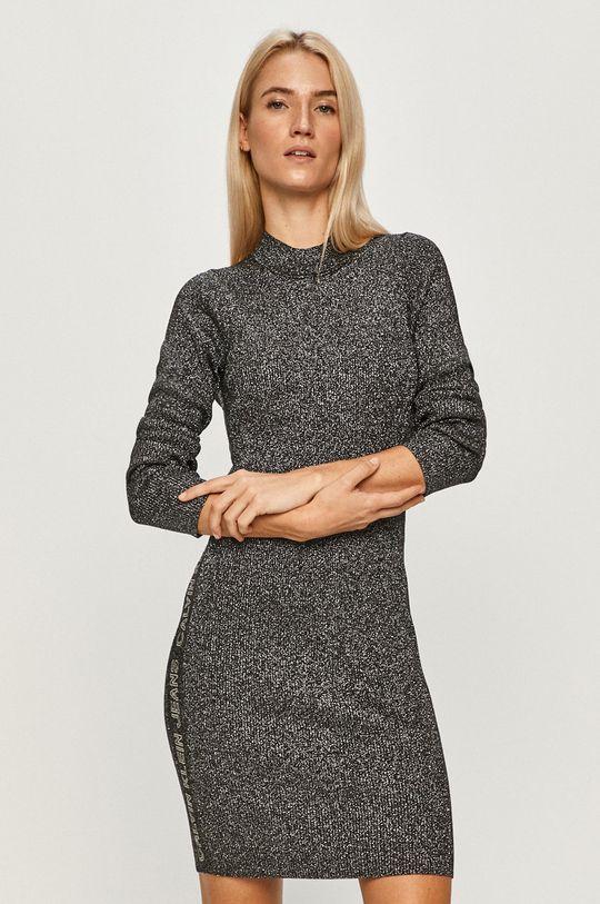 szary Calvin Klein Jeans - Sukienka Damski