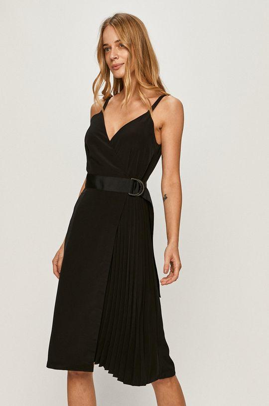 Calvin Klein Jeans - Rochie negru