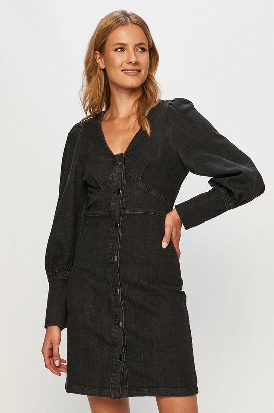 grafitowy Vero Moda - Sukienka jeansowa Damski