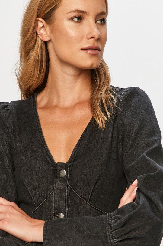 grafitowy Vero Moda - Sukienka jeansowa