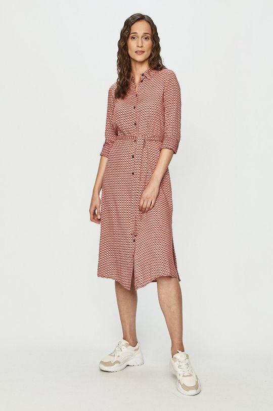 Vero Moda - Sukienka różowy
