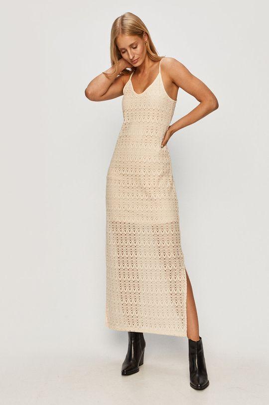 kremowy Vero Moda - Sukienka Damski