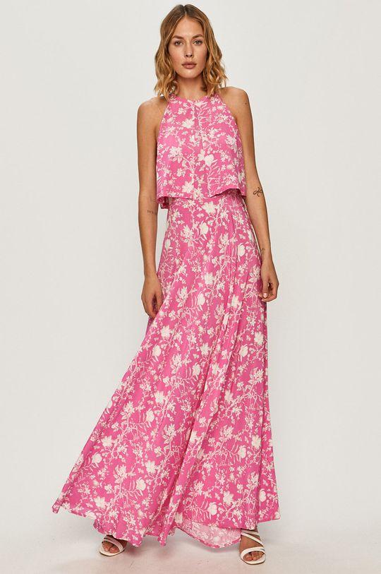 Pepe Jeans - Sukienka Davinia różowy