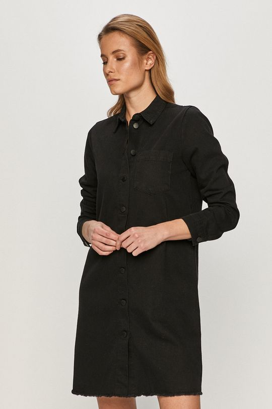 czarny Jacqueline de Yong - Sukienka jeansowa Damski