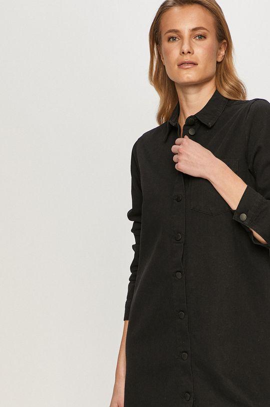 czarny Jacqueline de Yong - Sukienka jeansowa