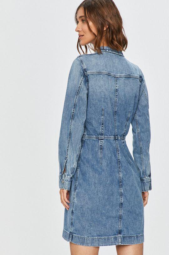 Levi's - Rifľové šaty  100% Bavlna