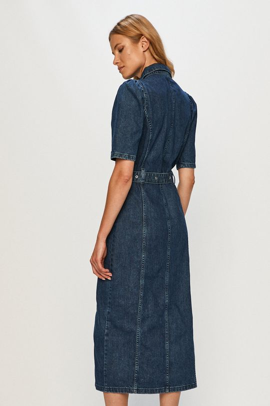 Only - Rochie jeans  100% Bumbac