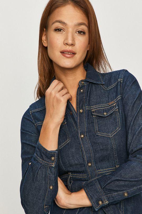 granatowy Pepe Jeans - Sukienka jeansowa Julie