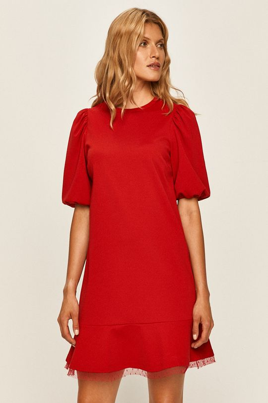 czerwony Red Valentino - Sukienka Damski