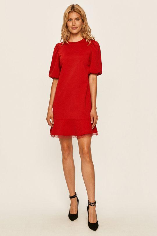 Red Valentino - Sukienka czerwony