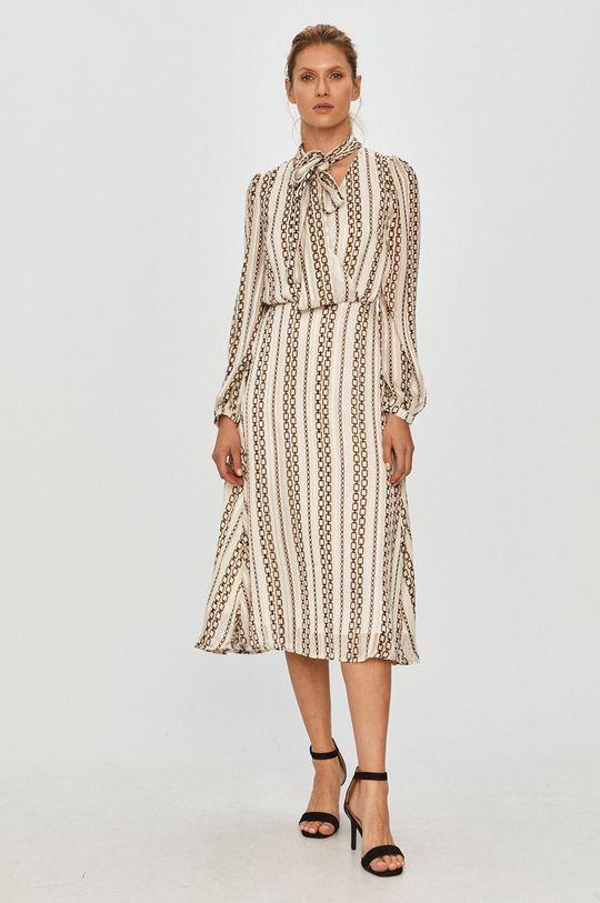 Morgan - Šaty krémová