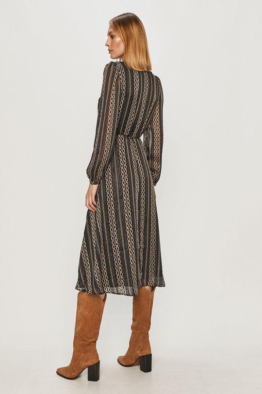 Morgan - Sukienka Podszewka: 43 % Elastan, 57 % Poliester, Materiał zasadniczy: 98 % Poliester, 2 % Włókno metaliczne