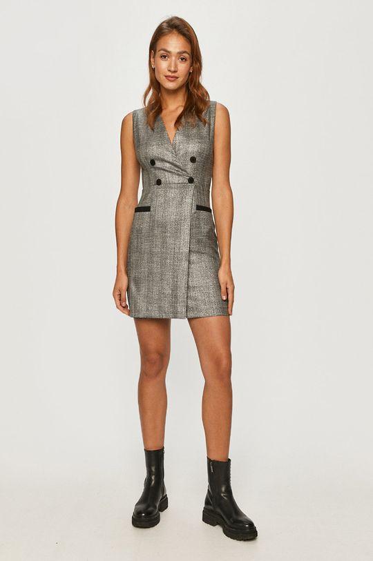 Morgan - Šaty světle šedá