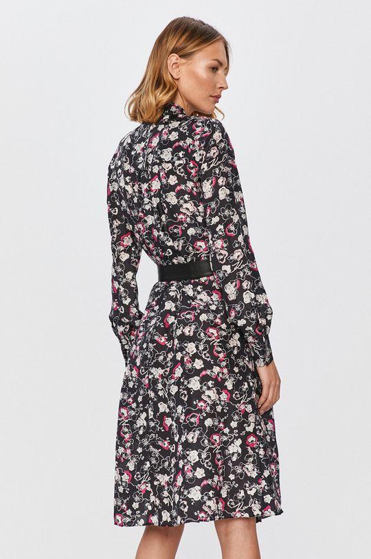Karl Lagerfeld - Šaty  1. látka: 100% Hodváb 2. látka: 100% Prírodná koža