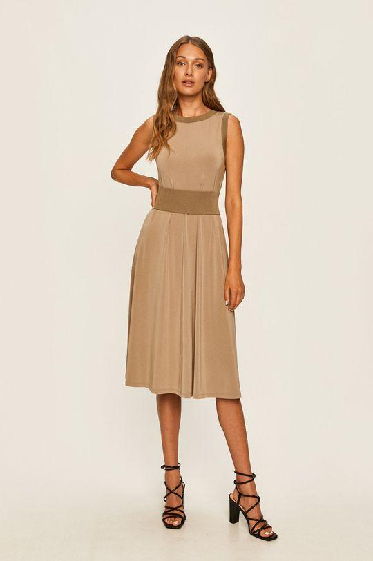 MAX&Co. - Šaty hnedozelená
