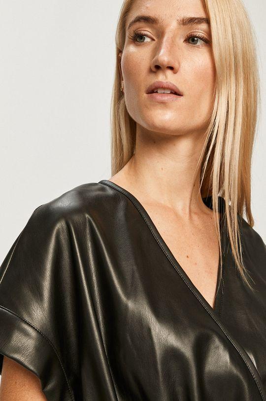 czarny Silvian Heach - Sukienka