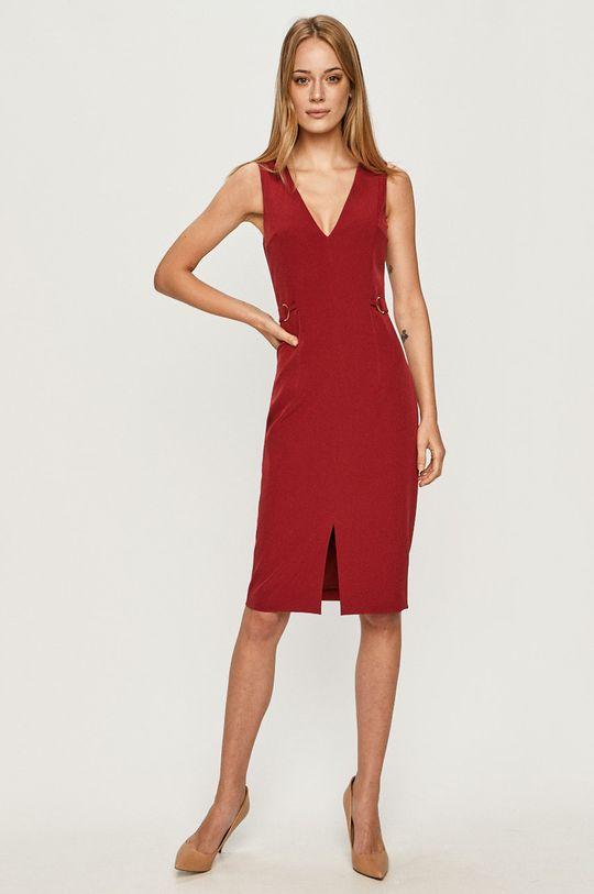 Trussardi Jeans - Sukienka czerwony