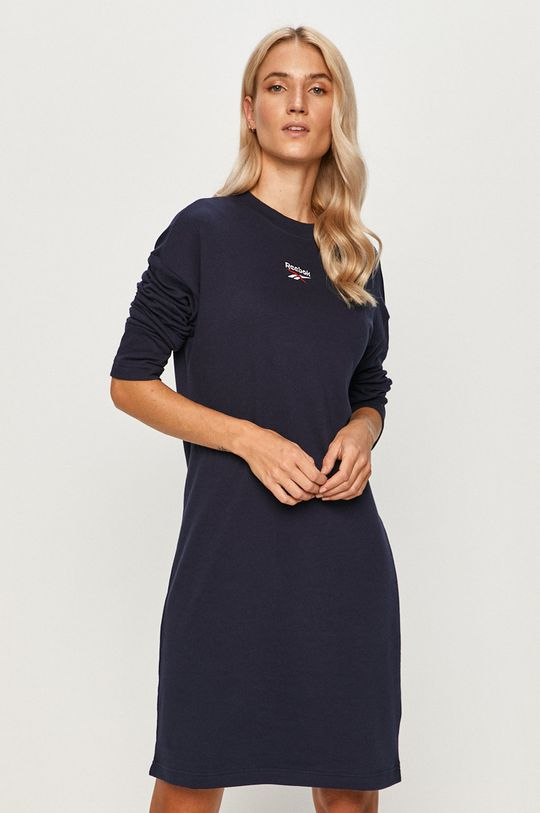 тёмно-синий Reebok Classic - Платье Женский