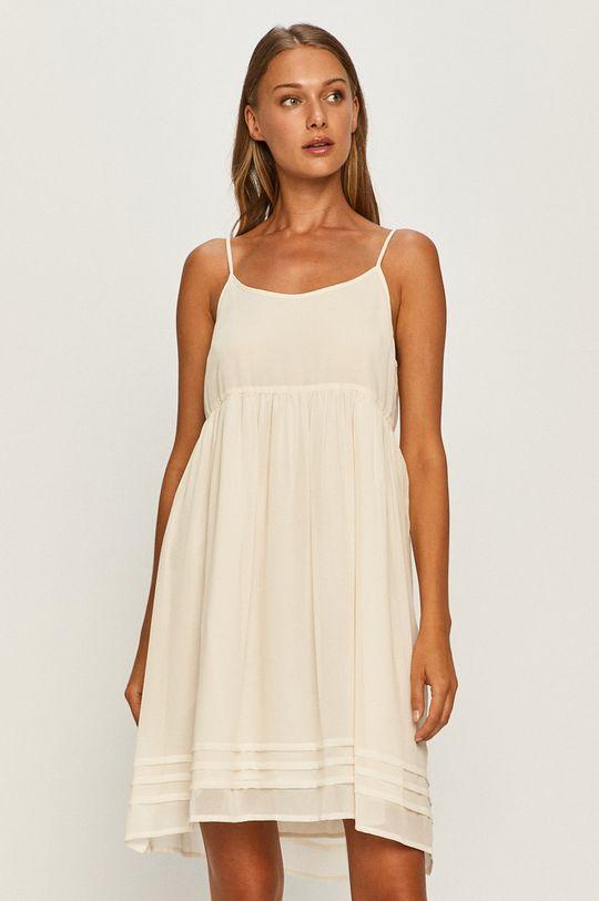 Twinset - Šaty krémová