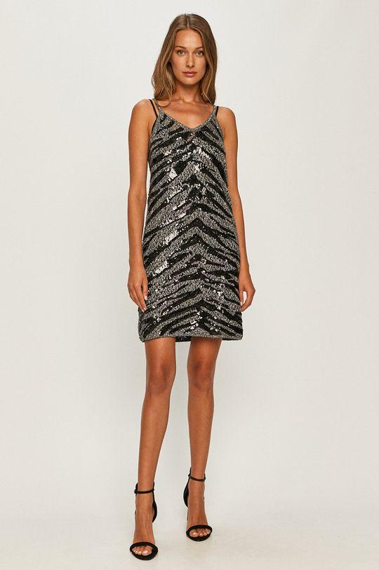 Twinset - Sukienka srebrny