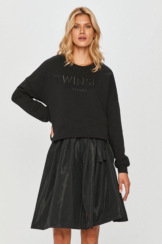 czarny Twinset - Sukienka Damski