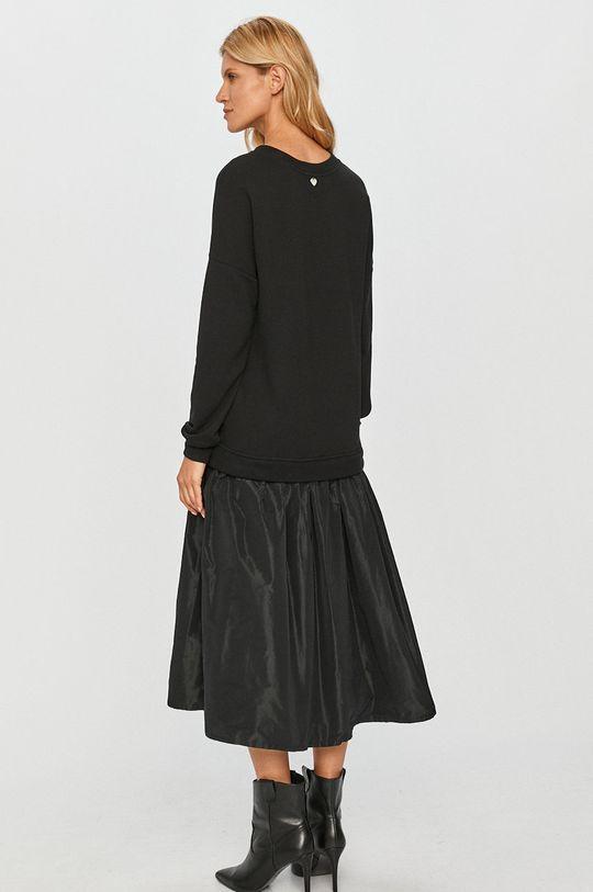 Twinset - Sukienka Inne materiały: 100 % Masa perłowa, Materiał 1: 100 % Bawełna, Materiał 2: 100 % Poliester, Materiał 3: 95 % Bawełna, 5 % Elastan