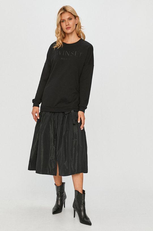 czarny Twinset - Sukienka