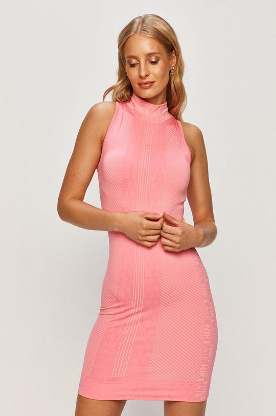 ostry różowy Nike Sportswear - Sukienka Damski
