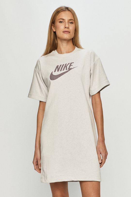 bílá Nike Sportswear - Šaty Dámský