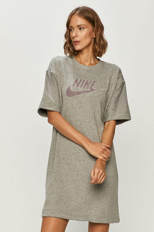 szary Nike Sportswear - Sukienka Damski