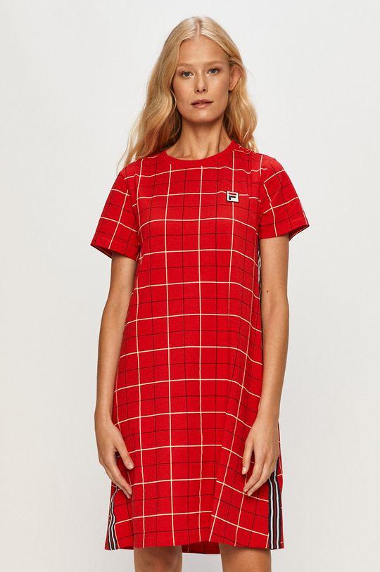 czerwony Fila - Sukienka Damski