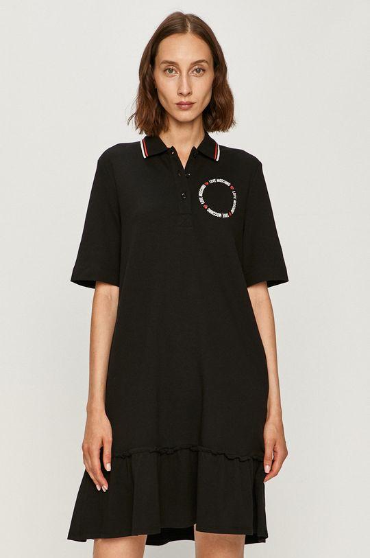 Love Moschino - Šaty černá