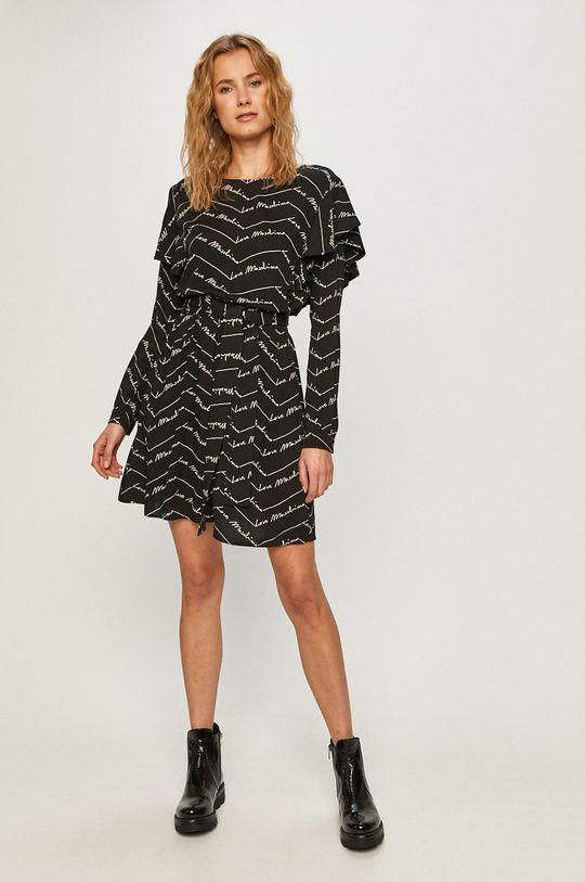 Love Moschino - Šaty čierna