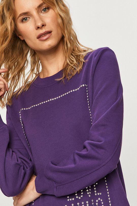 fialová Love Moschino - Šaty