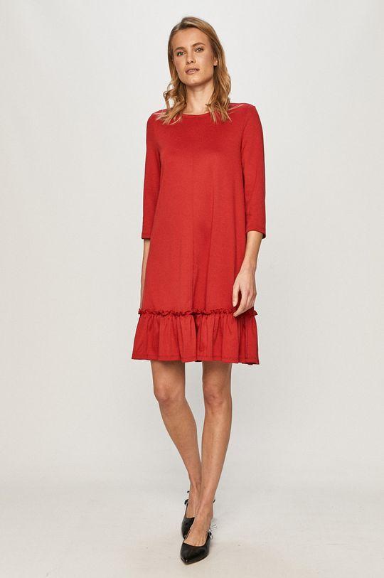 Vila - Sukienka czerwony