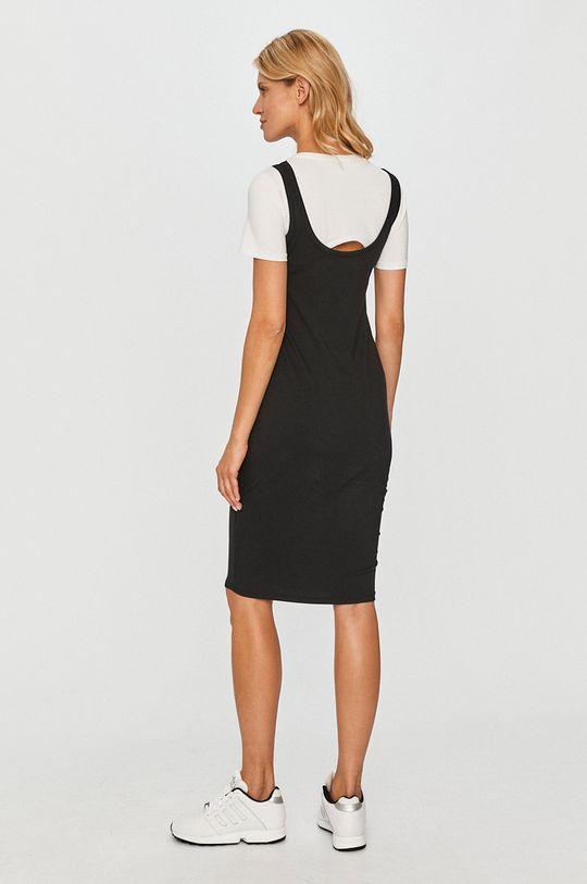 Dkny - Sukienka 95 % Bawełna, 5 % Elastan