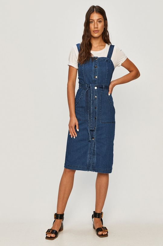 Vero Moda - Джинсова сукня блакитний