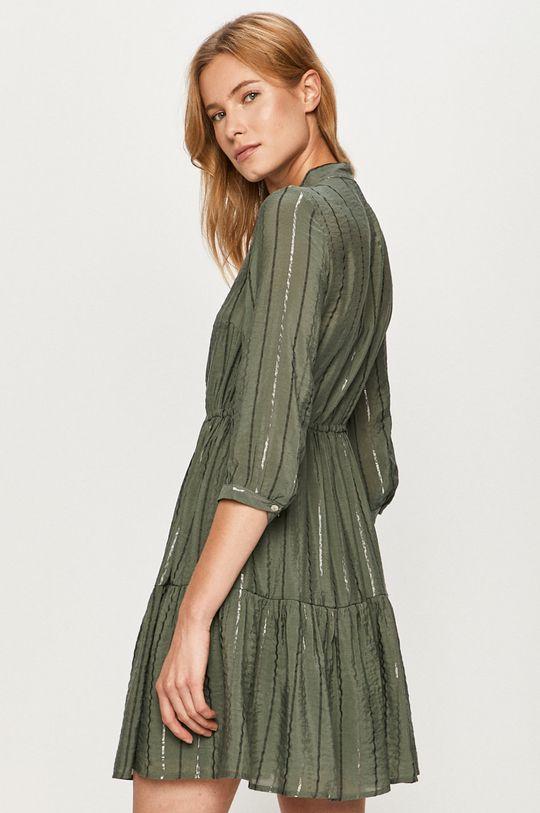 Vero Moda - Sukienka Podszewka: 100 % Wiskoza, Materiał zasadniczy: 30 % Nylon, 68 % Wiskoza, 2 % Włókno metaliczne