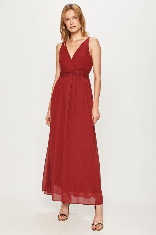 czerwony Vero Moda - Sukienka Damski