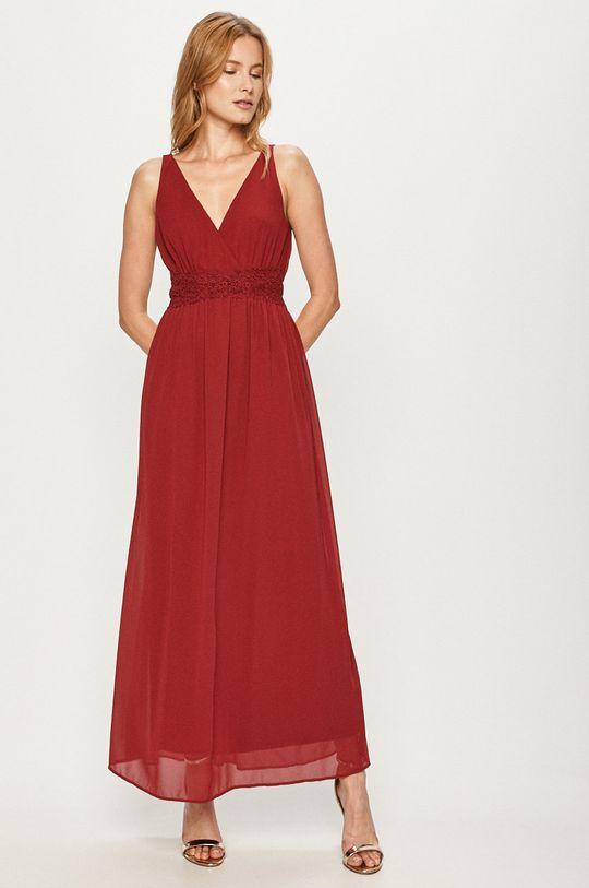 czerwony Vero Moda - Sukienka